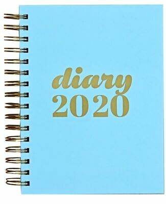 A5 Collins Bue Scandi Day Per Page Academic Mid Year Appointment Diary 2019-2020