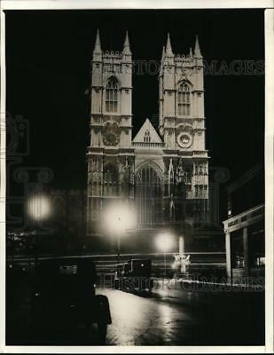 1937 Press Photo King George VI to be crowned in Westminster Abbey in London