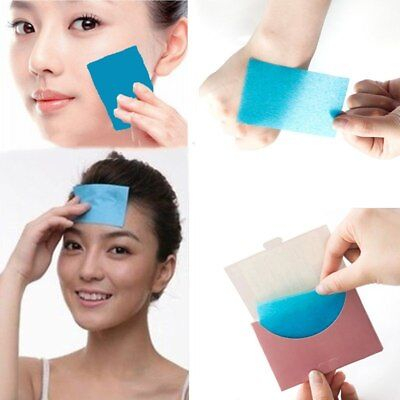 500pcs/10 Packs Oil Control Absorption Film Wipes Sheets Tissue Blotting Paper
