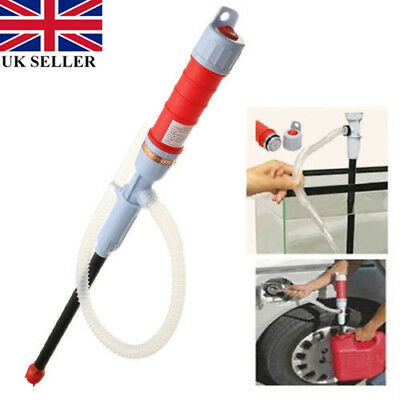 Water Pump Safe Tool Electric Liquid Transfer Gas Oil Siphon Battery Operated IL