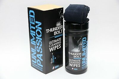 Unlimited Passion - Thunder bolt wipes x 80 wipes, bike cleaner new - Vulcanet
