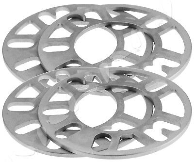 4Pcs 5Mm Alloy Wheel Spacers Shims Spacer Universal 4 And 5 Stud Fit
