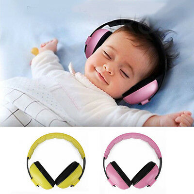BABY Childs Banz Ear Defenders Earmuffs Protection 2 COLOURS 3 months+ Boys Girl