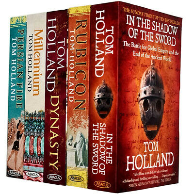 Tom holland 5 books collection Set Rubicon Dynasty Millennium Persian fire NEW