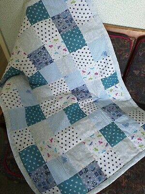 Unique Hand Sewn Patchwork Cot Quilts