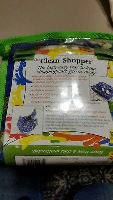 The Clean Shopper shopping cart fitted blanket for baby