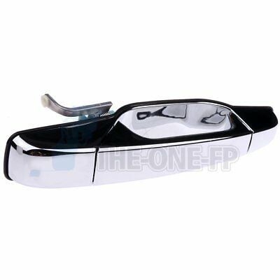 Chrome Outside Door Handle for 2007-2013 Chevy GMC GM Front Passenger Side RF