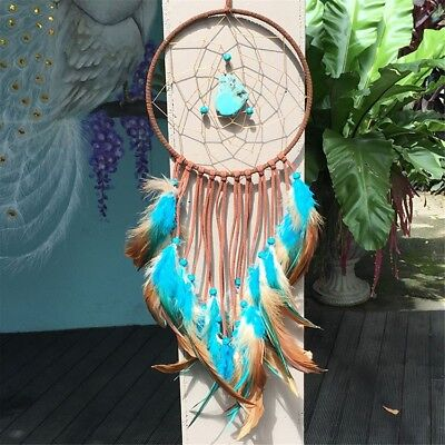 Large Dream Catcher Feathers Wall Hanging Ornament Long Decoration Handicrafts