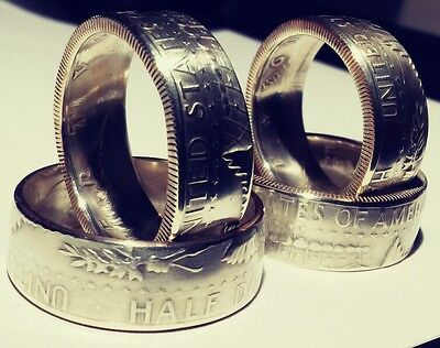 Sizes 7 - 15 , 1965 *1966 *1967 *1968 or 1969 Silver Coin Ring *Tails showing*