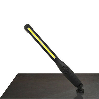 New LED COB Magnetic Work Light Car Garage Mechanic Home Rechargeable Torch Lamp