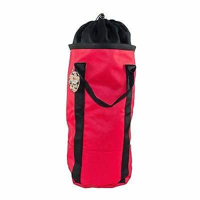 """Arborist Rope Bag, Super Sized,Up to 32"""" Tall, Back Pack Style,Holds 200 Ft Rope"""