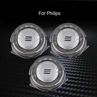 3 X Replacement Single Blade Shaver Heads For Electric Razor Philips Norelco HQ8