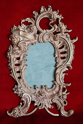 Big antique French Rococo Gilt Bronze Picture Frame Louis XV Style XIX Century