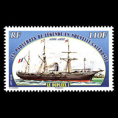 """New Caledonia 2018 - Legendary liners in New Caledonia """"Le Duplex I"""" ships - MNH"""
