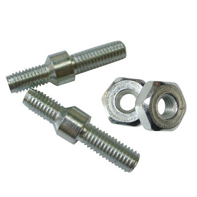 10Pcs M8 Guide Bar Nuts Set For Stihl MS 180 250 381 Chainsaw 22mm Repair Parts