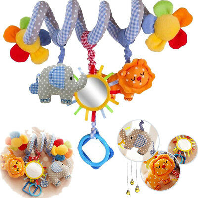 Newborn Baby Infant Educational Sound Toys Stroller Car Seat Cot Lathe Hanging