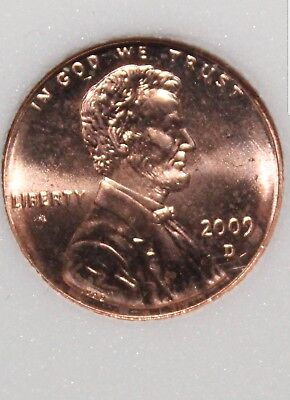 U.S. 2009 D Lincoln Rail Splitter Bicentennial Penny Uncirculated One Cent Coin