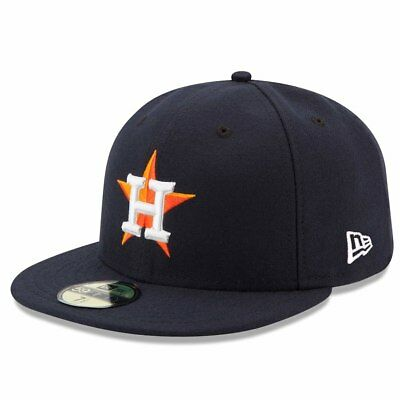 Houston Astros New Era Home Authentic On Field 59FIFTY Performance Fitted Hat