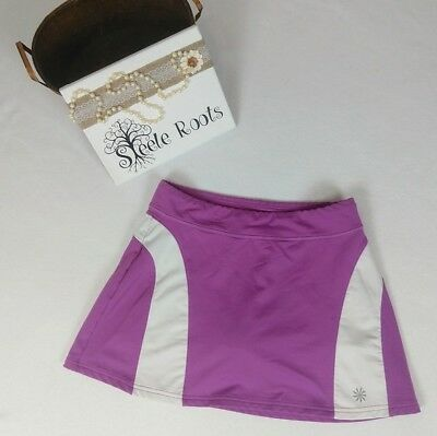 Athleta Active Skirt With Built-In Shorts For Yoga, Tennis, Etc Size M Euc