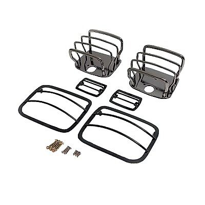 Rugged Ridge 11180.06 Euro Guard Kit Offroad/Racing Lamp Guard