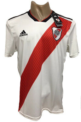 River Plate Home Soccer Jersey 2018-2019 All Sizes 69aff3a35