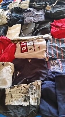 Wholesale Lot-of-10-Mens-Mixed Clothing Polo-Shirts-Casual,dress-Tees.Pant,Large