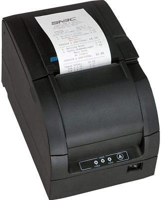 SNBC BTP-M300D Impact USB and Serial Port  POS Receipt Printer Black 132084