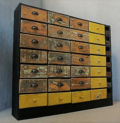 Multi drawer Unit / Industrial furniture / Apothecary with free delivery