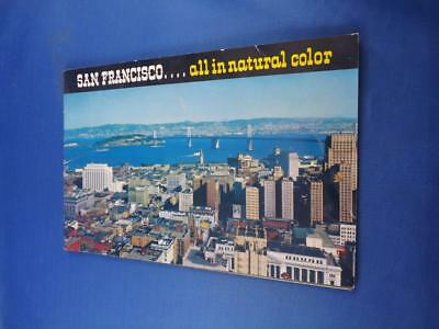 San Francisco Souvenir Travel Book In Natural Color City By The Golden Gate