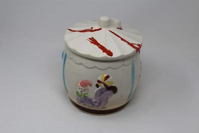 Vintage 1950s Napco Circus Clowns Big Top Cookie Jar #2394 Japan