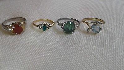Vintage Antique Costume Rings