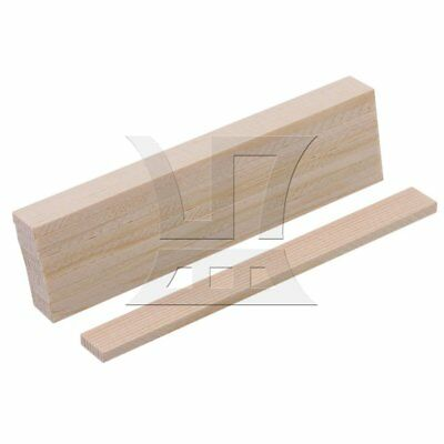 10cm Square Bamboo Wood Strips for DIY Model Making & Crafts Set of 10