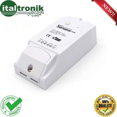 Control Unit 1 Ch Wi-Fi Sonoff Pow With Control Power By Smartphone