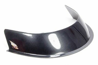 "MD3 Composite Hood Scoop Air Deflector 3"" Carbon Fiber Look High Impact Plastic"