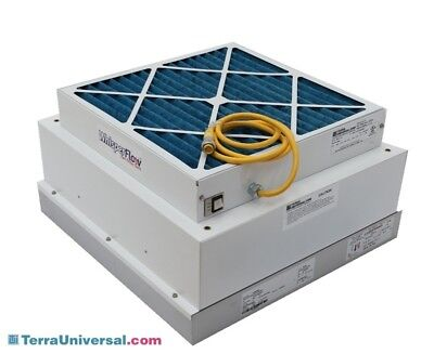 Terra Universal Fan Filter Unit and HEPA Filter, Clean Room Use, 6601-22-h