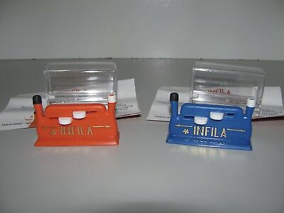 Infila Automatic Needle Threader New & Instructions x 2 A Must For The Craft Box