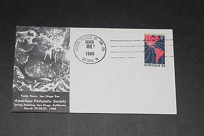 Usa 1968 Illustrated American Philatelic Society No.1  First Day Cover