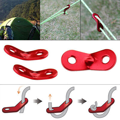 Guy Line Rope Runners Bent Camping & Tent Awning Caravan Camping Accessories Lot