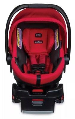 Britax B-Safe 35 Elite Infant Car Seat - Red Pepper With Sun & Bug Cover