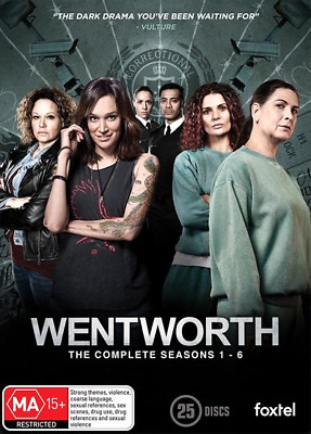 Wentworth : Season 1-6 (DVD, 2018) (Region 4) New Release