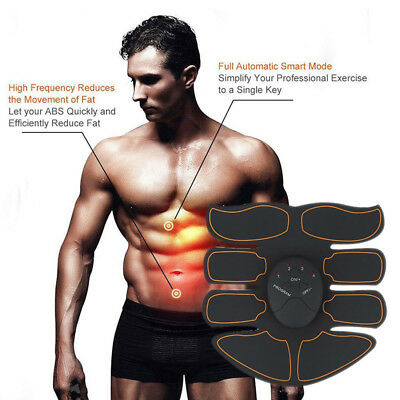 Ultimate Muscle ABS Stimulator Training Gear Trainer Six Pad Body EMS Exercise