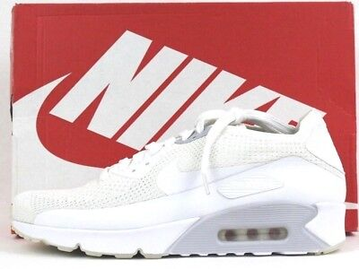huge discount 9ca01 b5f08 Nike Hommes Air Max Ultra 2.0 Flyknit Chaussures Baskets 875943 101 Whtite  10.5