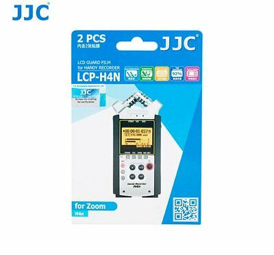 JJC LCP-H4N Screen protector LCD Guard Film for ZOOM H4n and H4n Pro _AU _AU