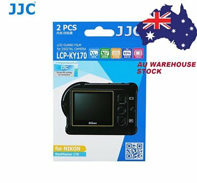 JJC KY170 LCD Screen Protector Protect Guard Film for Nikon KeyMission 170 _AU