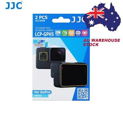 JJC LCP-GPH5 LCD Screen Protector Protection Guard Film for Gopro Hero 5 _AU