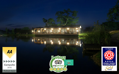 Luxury Lodge With Private Fishing Platform For Hire Boilies & Pellets Available
