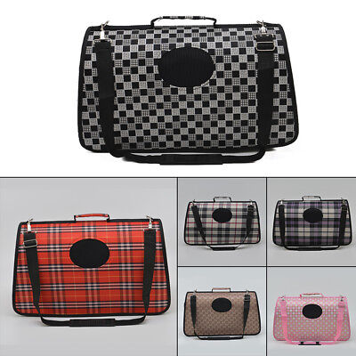 Dog Cat Pet Portable Travel Carry Carrier Tote Cage Bag Crates Kennel New