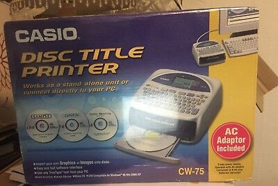 3 Pack Casio Black Ribbons for All Casio Disc Title Printers TR-18BK-3P Genuine