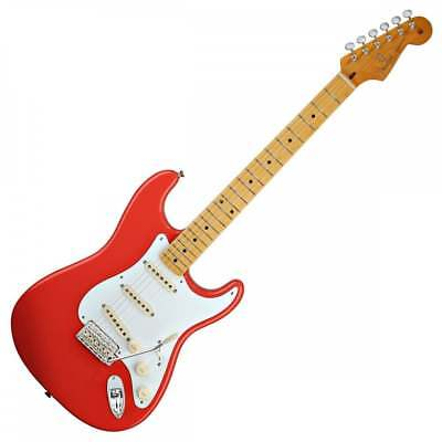 Fender Classic Series '50s Stratocaster Maple Neck - Fiesta Red