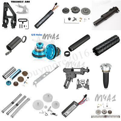 11.1V Lithium Battery Magazine Buttstock Gearbox Shell Kit For JinMing M4A1 Gen8